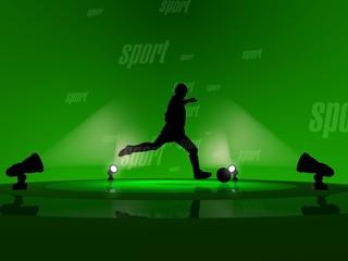 soccer sport 3d render