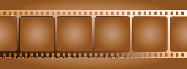 brown film outline