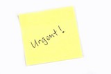 urgent! poster
