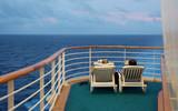 retired couple enjoying cruise vacation