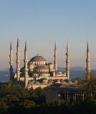 mezquita del sultan ahmet o mezquita azul poster