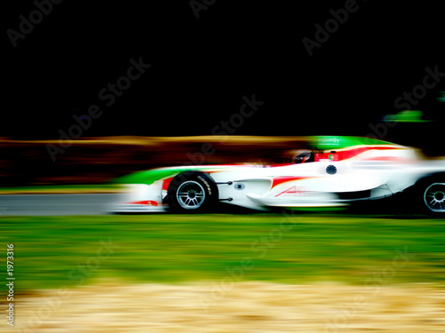 Foto op Canvas Snelle auto s f1 racing car