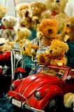 teddybären gang poster