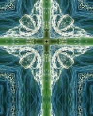 green wave cross3