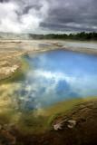 geothermal pool poster