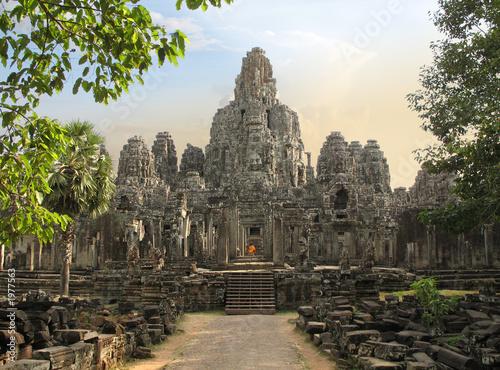 Zdjęcia na płótnie, fototapety, obrazy : bayon temple, cambodia