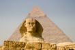 efinge y piramide de kefren