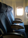 airline seats poster