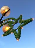 shining christmas star poster