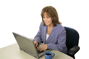 female executive at work
