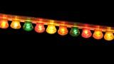 lights at night. bulbs. celebration. diversity poster