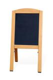 blank blackboard poster