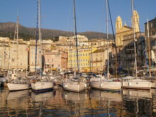 old harbour in bastia