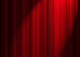 theatre curtain poster