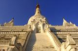 myanmar, mandalay, amarapura: pagoda patodawgyi poster