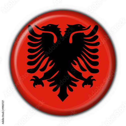 bottone bandiera albanese - albania flag