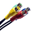 multicolored cables 7 poster