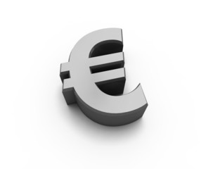euro 3d sign