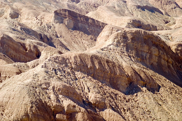 eroded hills formation