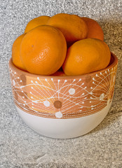 tangerins in flowerpot1