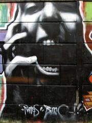 graffiti scream