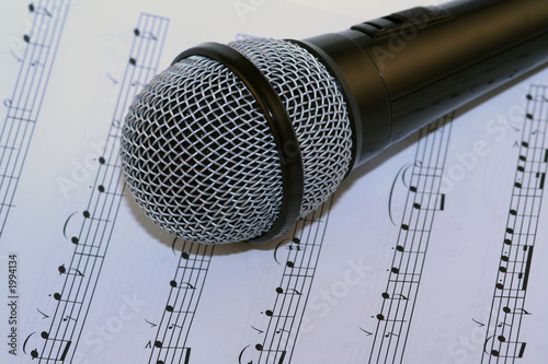 microphone and music
