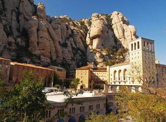montserrat monastery near barselona