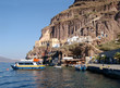port of skala in santorini