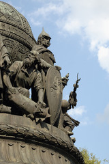 southern side of the millenium of russia monument,