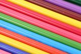 multicolor pencils pattern poster