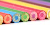 multicolor pencils poster