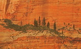 cliff face poster
