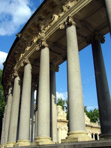 poster of madrid columns