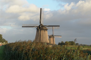 antique windmills