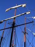 threemaster sails poster