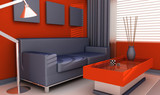 interior house - livingroom poster