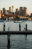 sydney harbour scenery poster