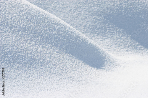 Foto op Aluminium Antarctica fresh snow background