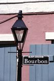 bourbon street sign new orleans - 2018195