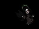 goth fairy angel 1 poster