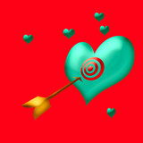 target valentine poster