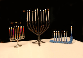 menorah triad