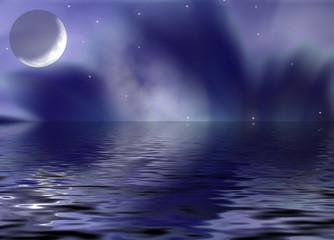 reflection moon_fantastic