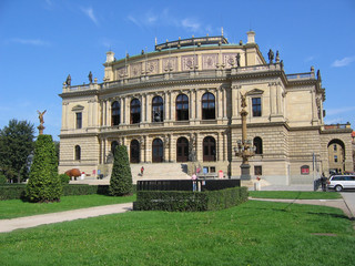 rudolfinum, concert hall. prague.