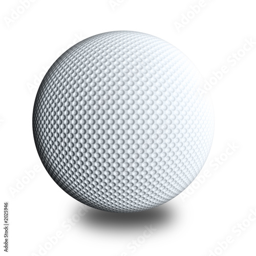 golf ball white