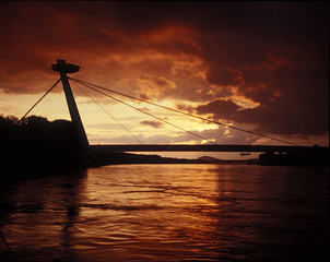 bratislava silhouette