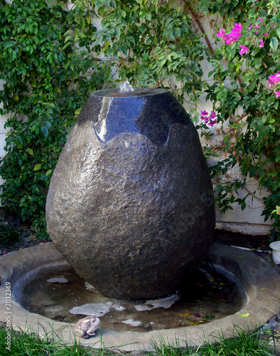 rocky fountain