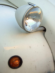 citroen 2cv headlight