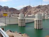 hoover dam & intake towers