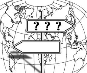 question sur le sens du monde